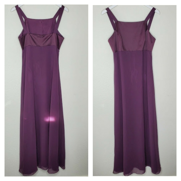 Adrianna Papell Dresses & Skirts - Papell Boutique Evening Purple Full Length Dress